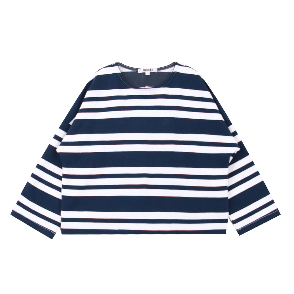 20 S/S Navy stripe T-shirt
