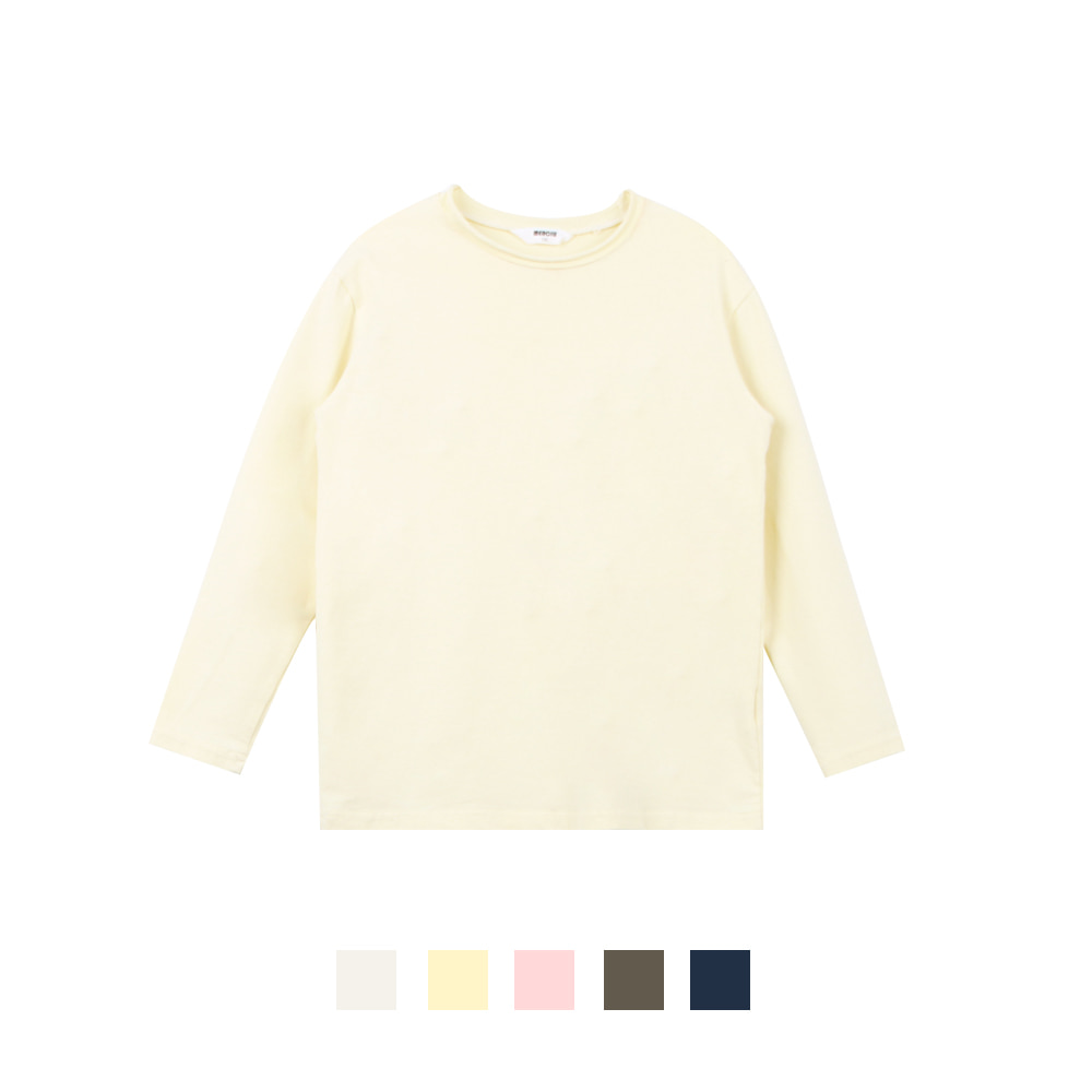 20 S/S Basic Cutting T-shirt