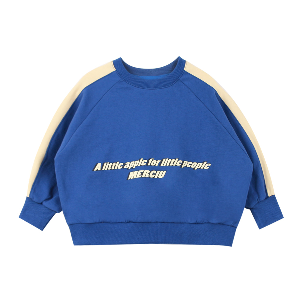 Blue apple sweatshirt