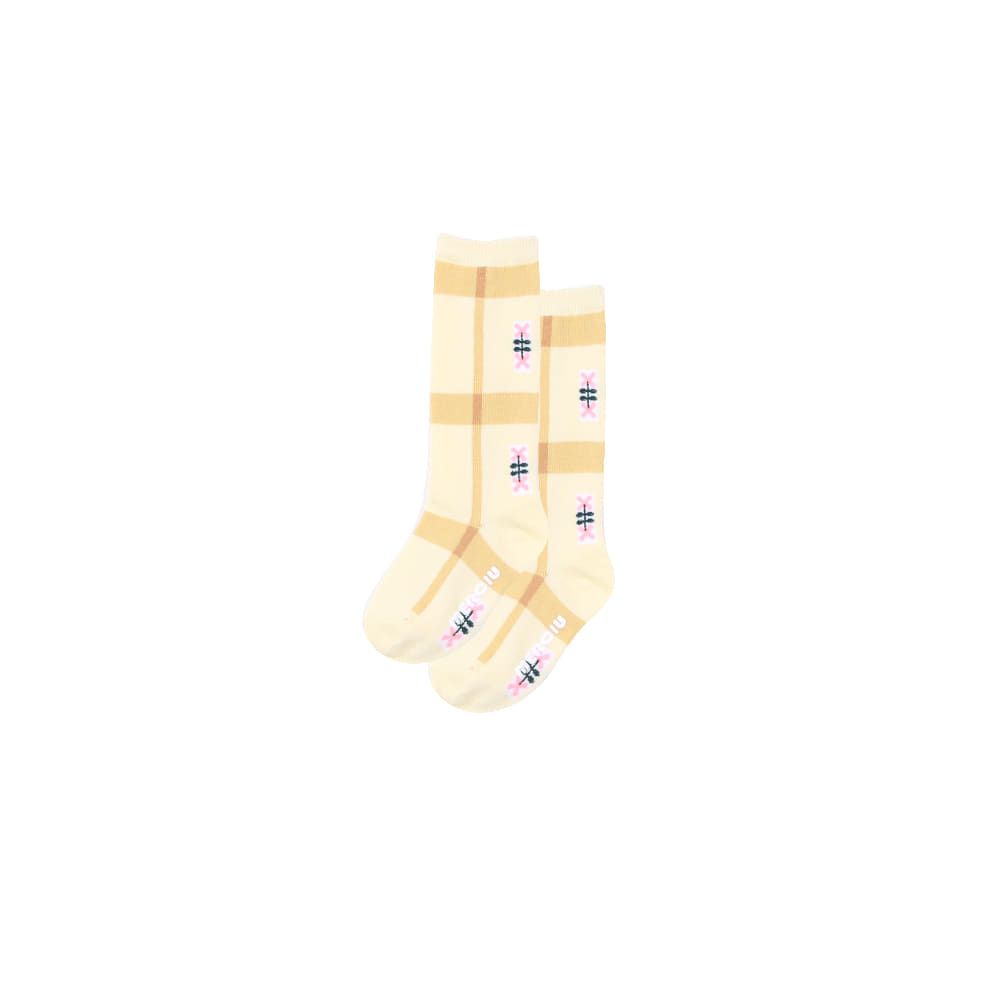 20 S/S Knee Socks - yellow (당일발송)